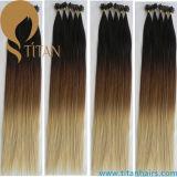 Fusion Keratin Virgin Human Hair U Tip Hair Extensions