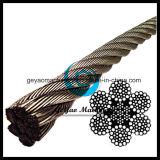 6*37 Iwrc 304 Stainless Steel Wire Rope Diameter 32mm
