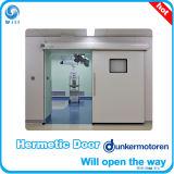 Complete Whie Hermetic Auto Sliding Door