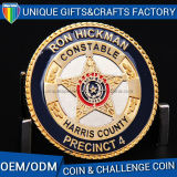 Wholesale Custom Souvenir Metal Challenge Coins Hard Enamel