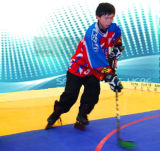 Interlocking Modular in-Line Hockey Tiles & Rink Hockey Flooring for Competion and Training