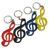 Custom Shape Decorate PVC Key Chain for Promotion Gifts