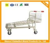 Supermarket Warehouse Flat Trolley Cart