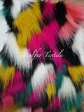High Quality Multicolor Jacquard Fur