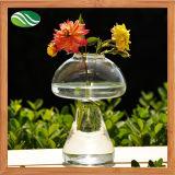 Mushroom Shape Crystal Glass Vase for Ornament Decoration (EB-B-4580)