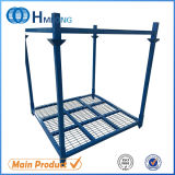 Warehouse Storage Metal Tyre Rack with Bottom Wire Mesh