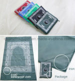 OEM Muslim Rug Prayer Carpet Mat with Qibla Compass