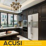 New Premium Wholesale U Style Birch Solid Wood Kitchen Cabinet Kitchen Furniture (ACS2-W09)