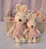 Lovely Rabbit Plush Toy with Dress
