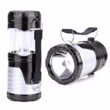 6 LED Rechargeable Solar LED Camping Light for Hiking Travel Backpacking Camping with Solar Power