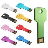 Key Shape USB Flash Drive USB2.0 Logo Customized Promotion Gift