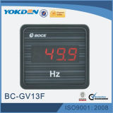Gv13f Panel Meter Single Phase Frequency Meter