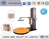 Automatic Top-Plate Pre-Stretch Pallet Wrapper