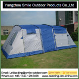 Custom Printed Large Canopy Tunnel Camping Luxury Family Tent