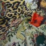 Custom 100% Silk Digital Textile Printing Fabric (DSC-4011)