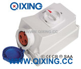 125A IP67 3p Electric Switch Socket Machine