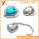Fashion Custom Design Foldable Bag Hook with Diamond for Woman Bag