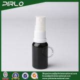 15ml Black Lightproof Glass Spray Bottles with White New Pump Sprayer