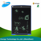 Kids Early Education Teach Board-6 Colors 8.5 Inch Electronic LCD Writing Pad Black with Durable ABS Frame and Lanyard Hole