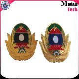 Souvenir Gold Silve Copper Enamel Challenge Badge Emblem