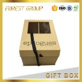 Top and Bottom Golden Paper Box