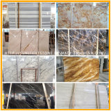 China Cheap White/Green/Black/Yellow Mosaic /Waterjet Travertine / Marbles for Floor Tile Slab