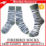 Wholesale Colorful Stripe Patterned with Custom Dress Socks