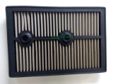 Replacement Panel Car Air Filter with Stainless Steel or Red