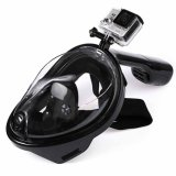 Smaco Anti-Fog Full Face Silicone Scuba Diving Swimming Snorkel Mask with Adult/Kid Size