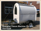 Ys-Fv220 White Customized Burger Stall Food Trailer