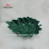 Leaf Ceramic Dish Aspen Different Color and Sizes Leaves, Dinner Dish