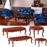 Wooden Sofa Set with Table for Home Furniture (D987B)
