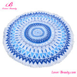 Cheap Wholesale Blue Simply Mandala Printed Beach Towels
