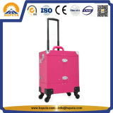 Hot Sale Fashion Ladies Beauty Trolley Case Cosmetic Case for Nail Specialist (HB-6342)