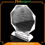 Hot Sell Crystal Trophy with Laser Egraving Logo