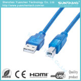 New Blue Color Male to Female USB Printer Cable