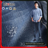 Good Hand Feel 9.9oz Slub Cotton Fabric Denim Fabric