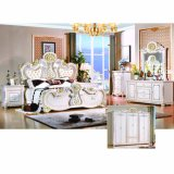 Bedroom Furniture Set with Wardrobe and Dressing Table (W801#)