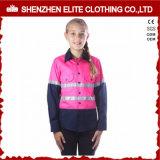 Uniforms Construction Reflective Safety Kids Workwear Children