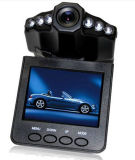 6 LED Light Car DVR with HD and Night Vision