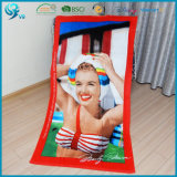 100% Cotton Velour Reactive Customized Character Printed Towel