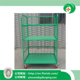 Steel Cage Trolley for Transportation with Ce Approval