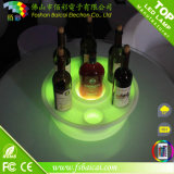 Used in Bar/ Hotel/ Restaurant / Christmas Party Bar Furniture Flashing Multicolor Changing LED Wine Tray