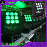 9X12W 4in1 Disco Moving Head LED Beam Matrix 3X3