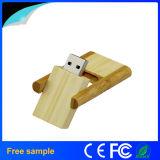 Wholesale 4GB Pendrive Rectangular Wooden Rotation Flash Disk