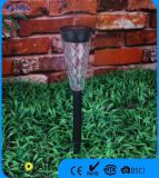 Promotional Black Plastic Solar Stake Solar Garden Light for Patio