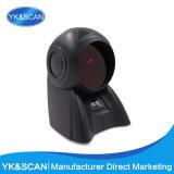 Desktop Omnidirectional Barcode Scanner 20 Scan Lines for POS System and Supermarket