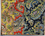 New Design Paisley Cotton Printed Fabric Tie for Men