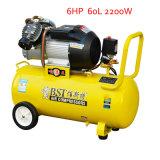 2200W 60L 6HP Portable Hand Screw Piston Air Compressor