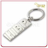 Promotion Custom Zinc Alloy Rectangle Shape Metal Keychain